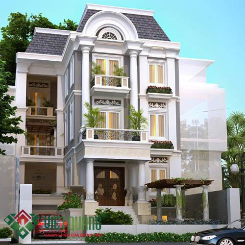 Những mẫu thiết kế nhà biệt thự đẹp năm 2019