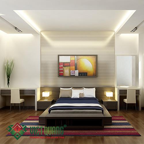 Thiết kế đèn chiếu sáng phòng ngủ đẹp mắt