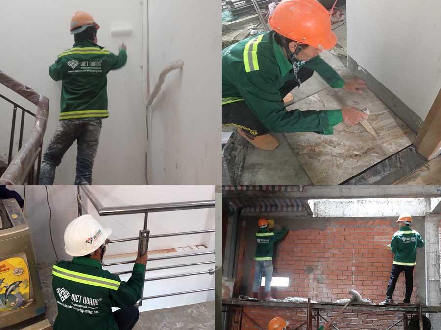 Sửa chữa nhà Tp HCM - Kiến Trúc Việt Quang