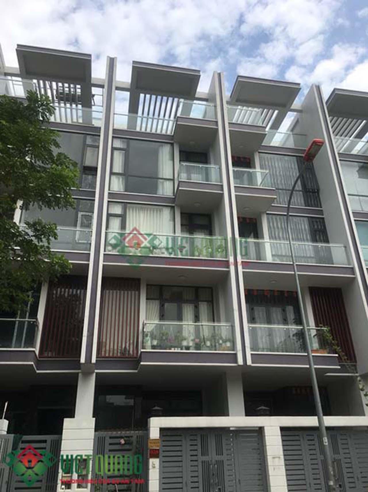 Đơn giá thiết kế xây dựng nhà phố 5 tầng 80m2