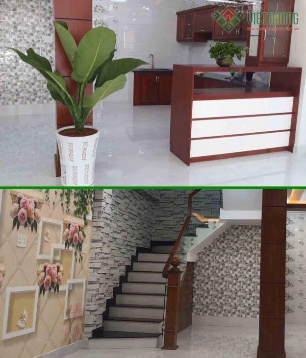 Xây nhà phố 4 tầng nhà Cô Huệ Quận Bình Tân