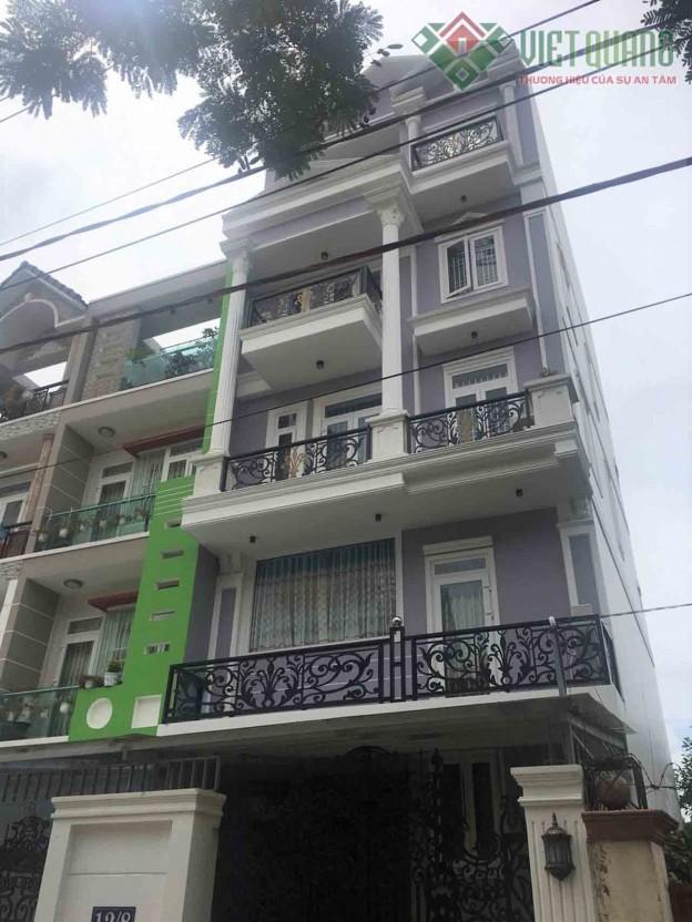Xây dựng nhà phố 5 tầng nhà chú Vĩnh Quận Gò Vấp