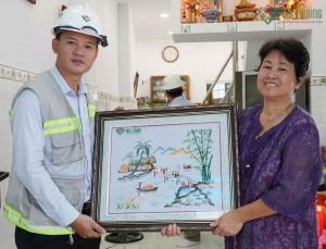 Bàn giao nhà cô Huỳnh Thị Ngọc Nga – quận 5