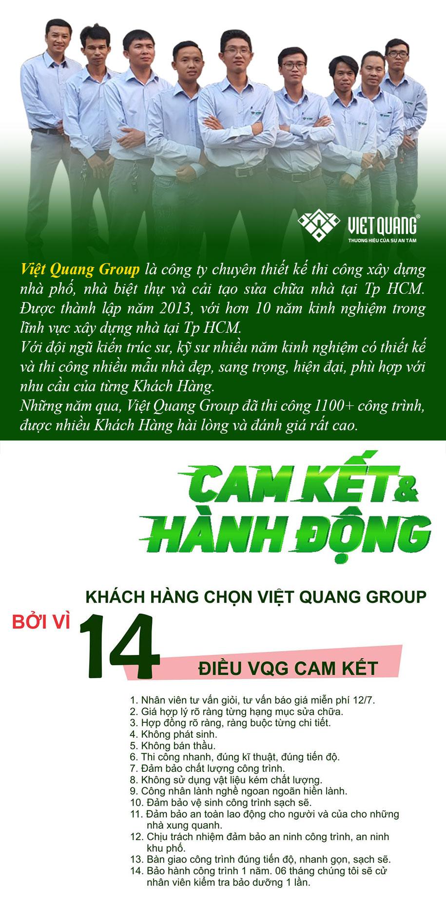 Vì sao Khách Hàng chọn Việt Quang sửa nhà tại quận 11
