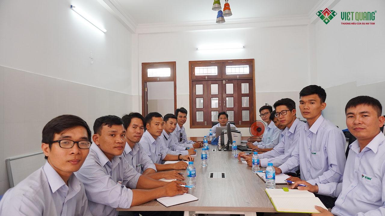 Đội ngũ nhân sự Việt Quang tại quận 9