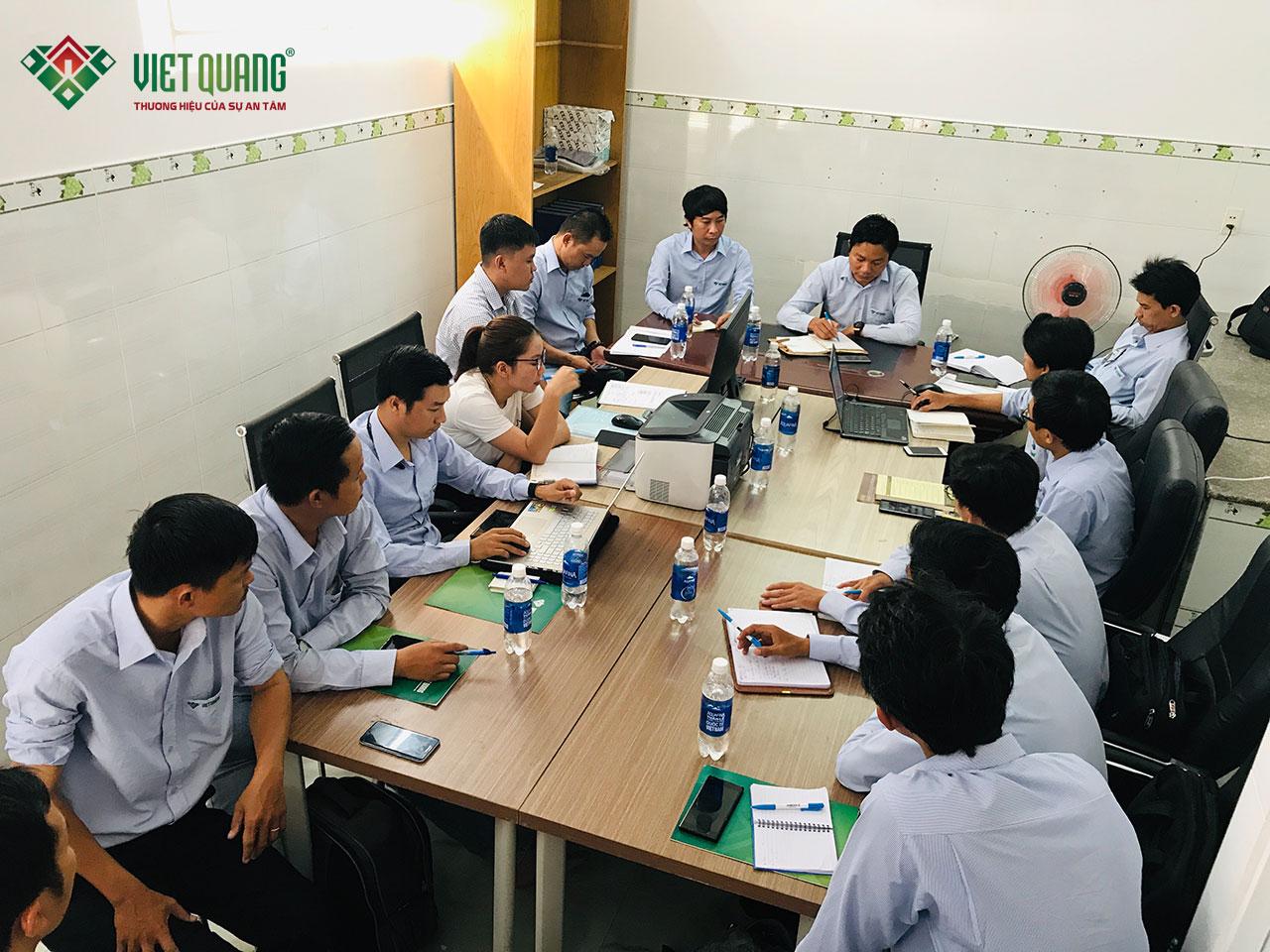 Đội ngũ nhân sự của Việt Quang tại quận Bình Tân