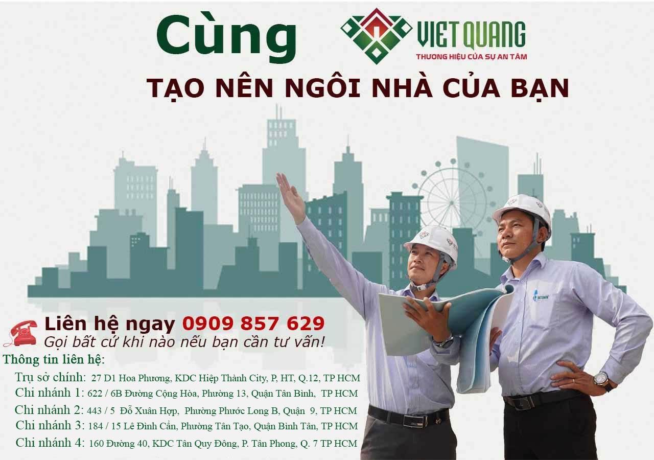 Xây dựng nhà trọn gói tại Tp Hcm