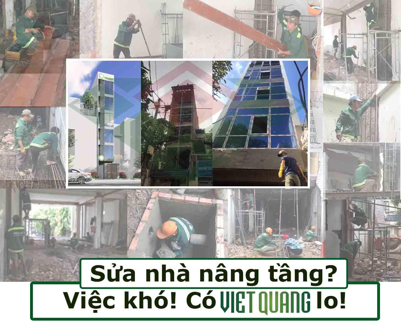 Sửa chữa nhà nâng tầng uy tín tại TP HCM