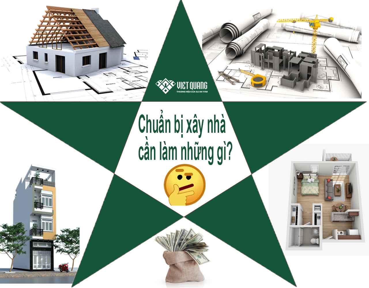 Chuẩn bị xây nhà – cần làm những gì?