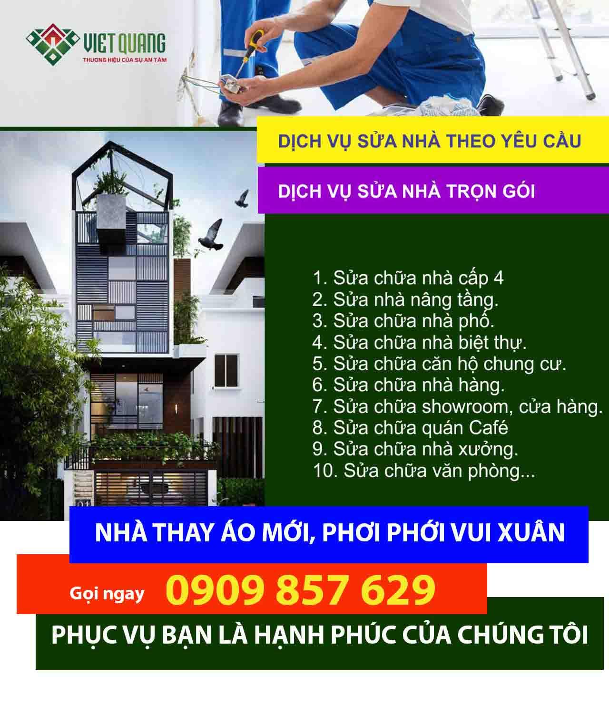 Bảng giá hoàn thiện căn hộ chun cư