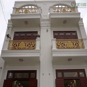 Xây nhà phố Tân cổ điển 2 tầng chú Lương huyện Bình Chánh