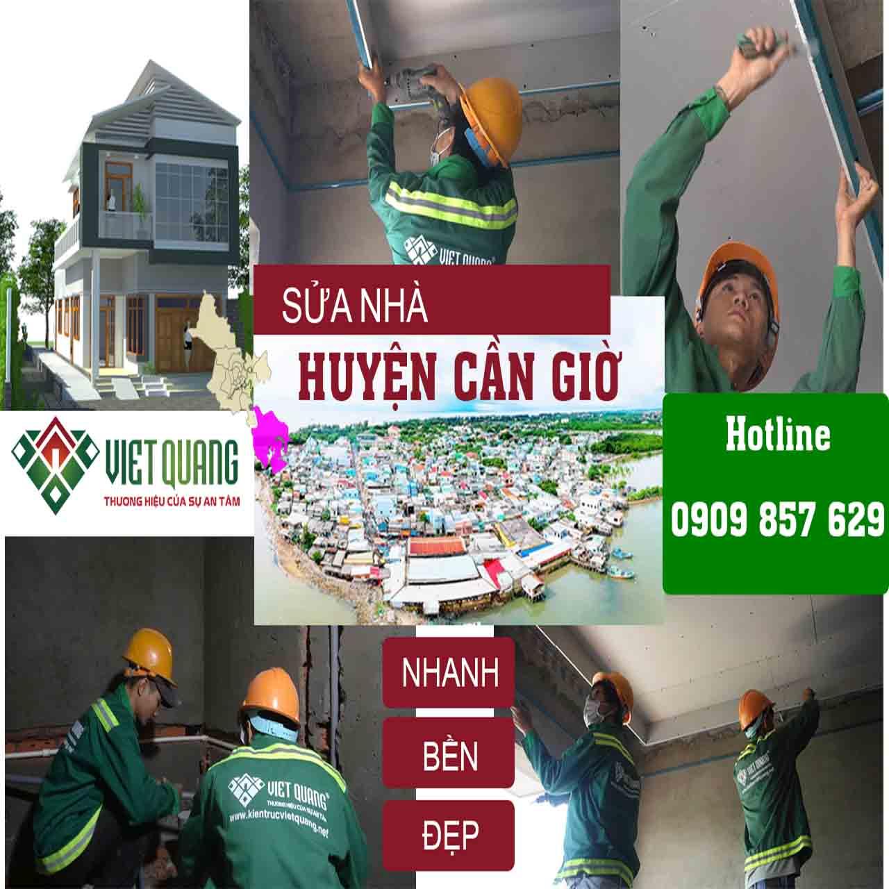 Công ty sửa chữa nhà tại huyện Cần Giờ