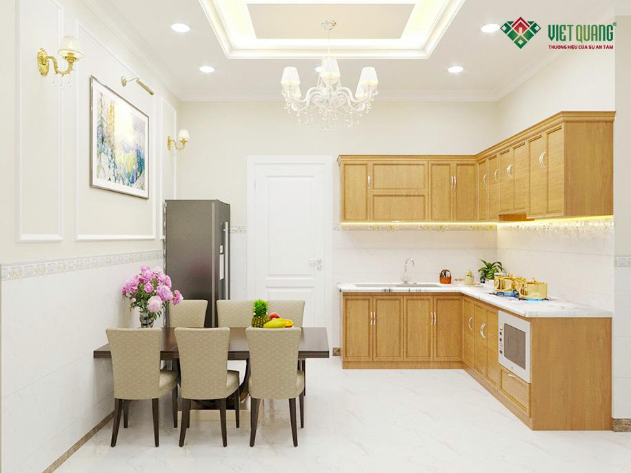 Hoàn thiện nội thất khu vực bếp