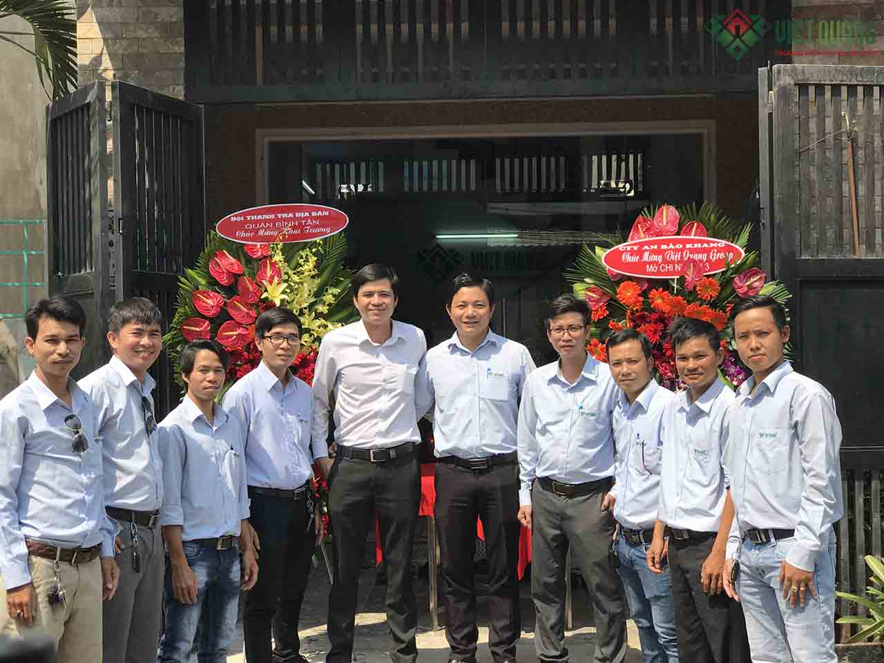 Chi nhánh 3 Việt quang Group khai trương hồng phát