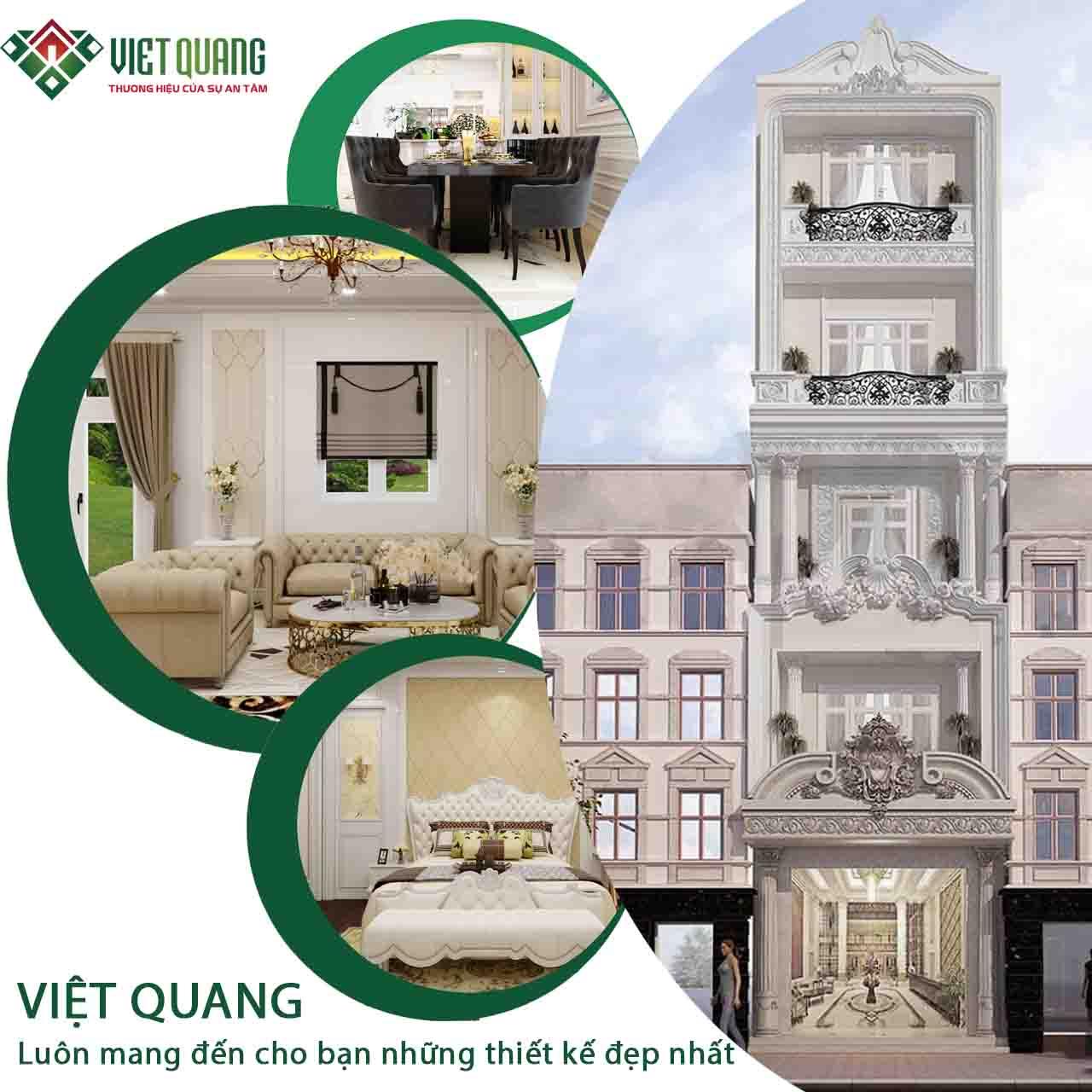 Việt Quang Group đơn vị thiết kế xây dựng nhà ở chuyên nghiệp, uy tín