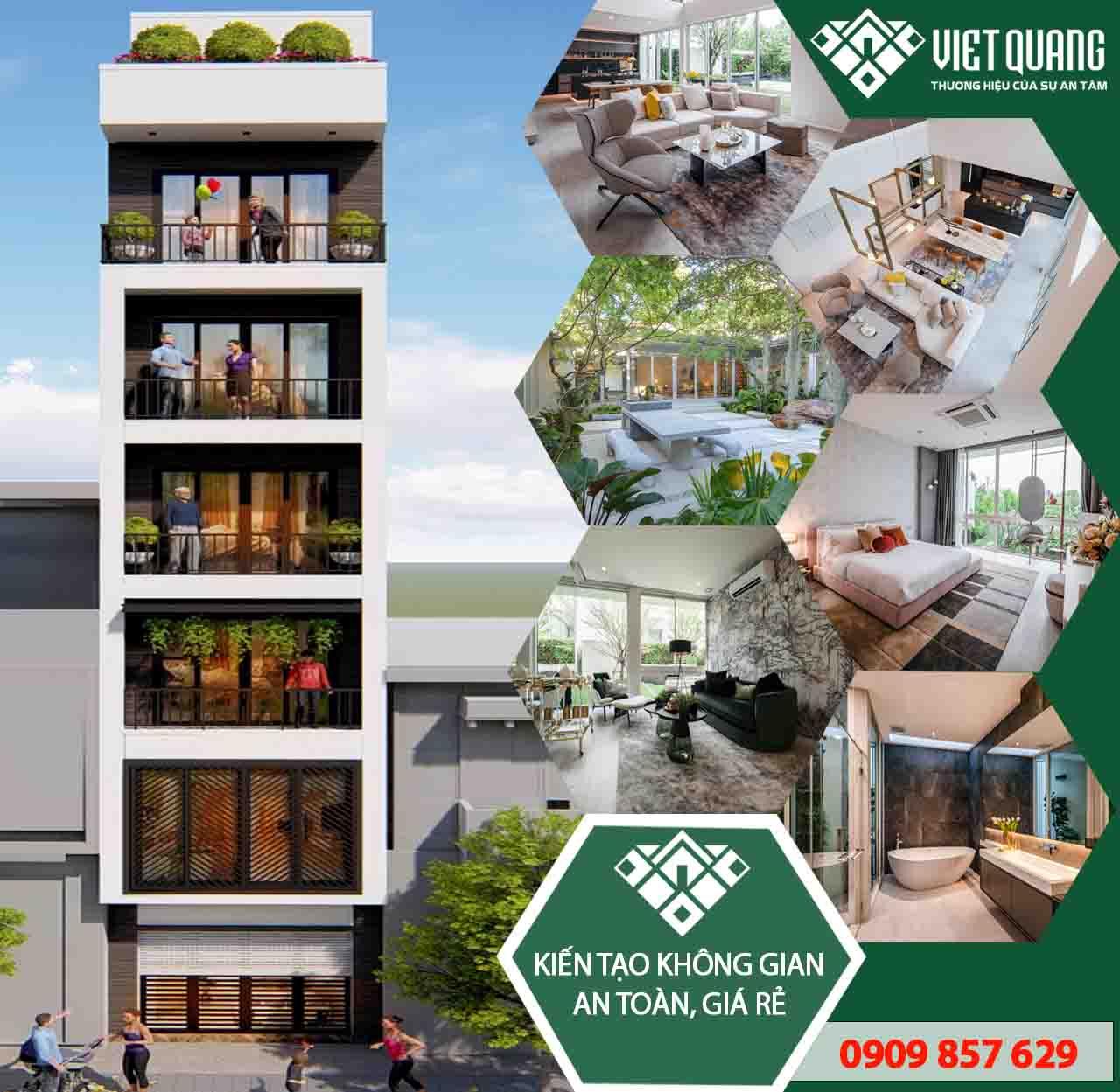 Mẫu thiết kế nhà phố 7 tầng khiến nhiều người mơ ước