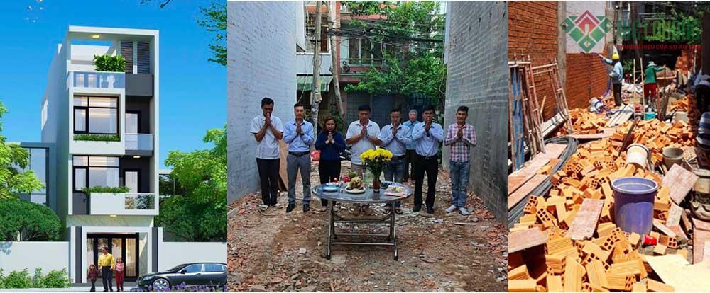 Hàng loạt công trình Việt Quang khởi công giữa mùa dịch