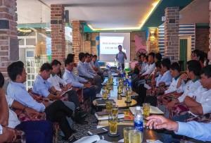 Hoạt động họp định kỳ đầu tháng 6/2020