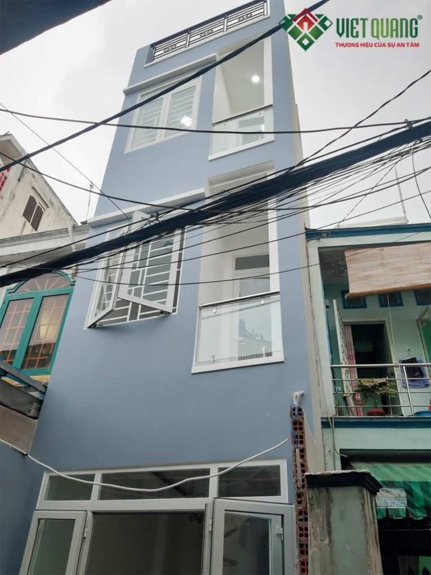 Xây dựng nhà phố Anh Hưng – quận Tân Bình