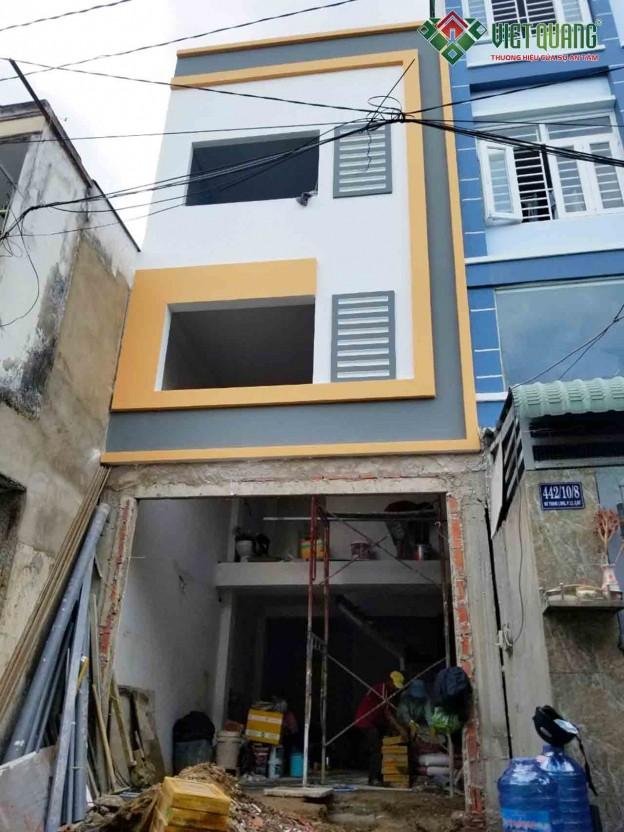 Xây nhà mới Anh Đạt – Bình Thạnh