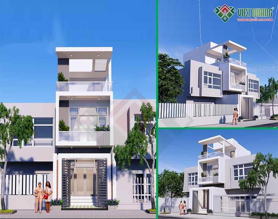 Khởi công xây dựng 7 công trình nhà mới