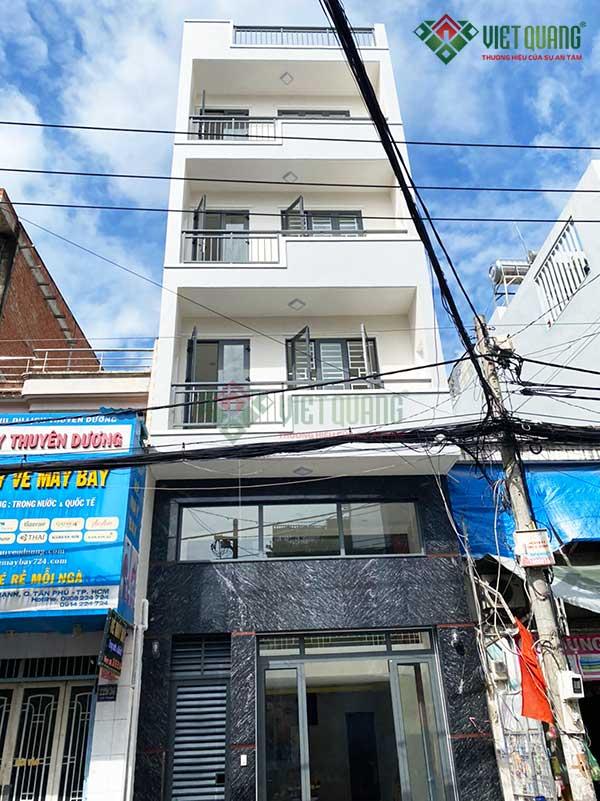 Nhà phố 4 tầng 1 lửng Anh Xứng quận Tân Phú