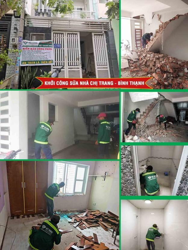 Khởi công sửa nhà trọn gói 11 công trình
