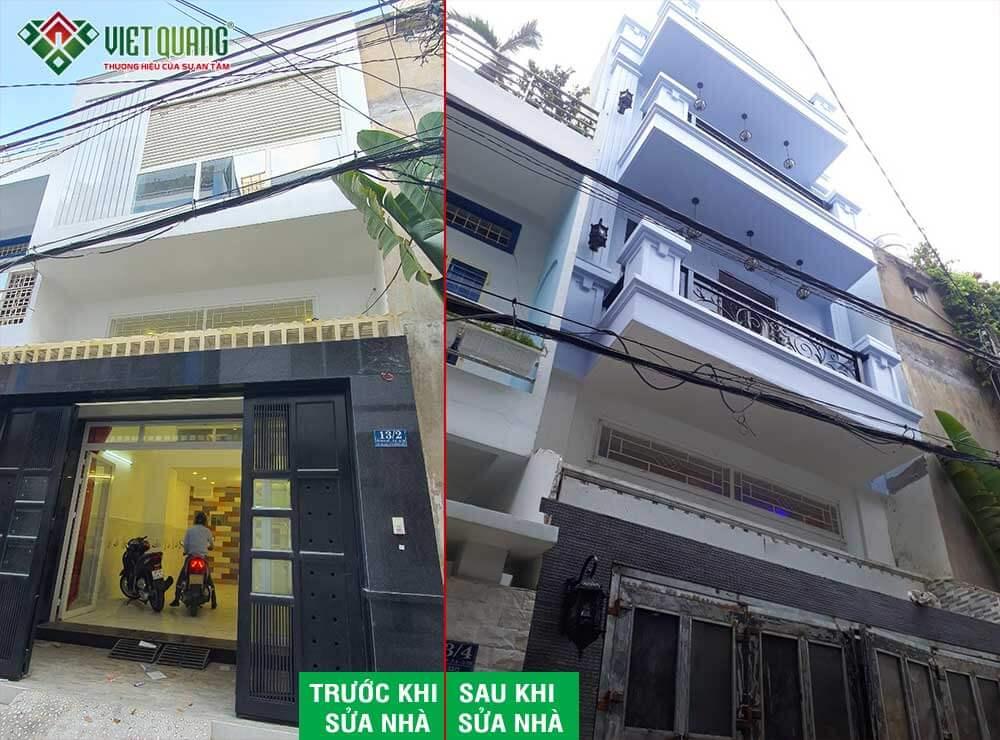 Sửa nhà nâng tầng Anh Duy quận Tân Bình