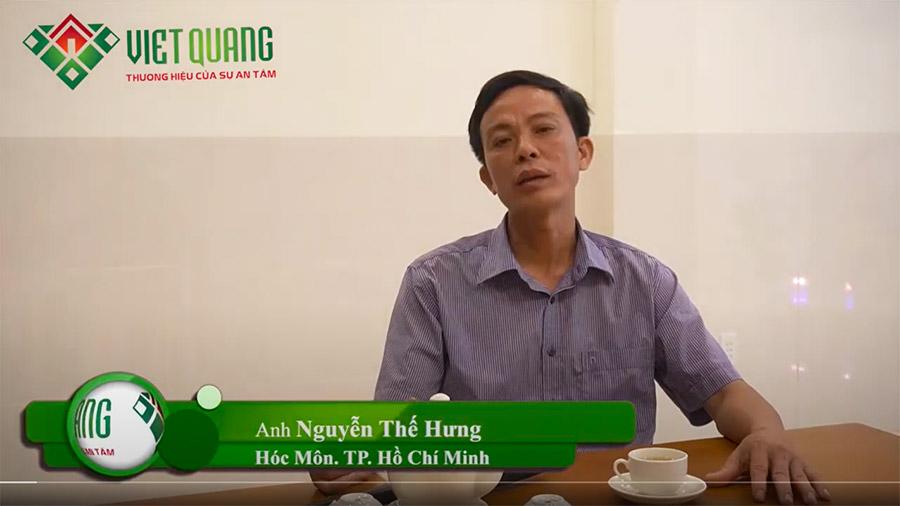 Nhận xét của Anh Hưng – Hóc Môn về Việt Quang Group