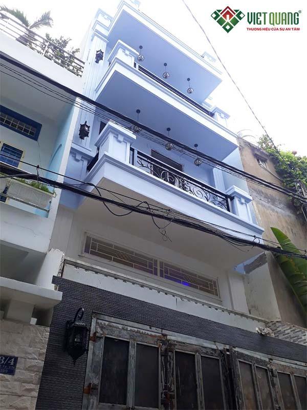 Sửa nhà nâng tầng Anh Duy quận Tân Bình, TP HCM