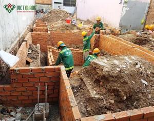 Khởi công xây nhà chị Thu quận Gò Vấp