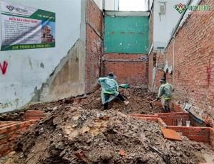 Khởi công xây dựng nhà chị Thúy quận Tân Bình