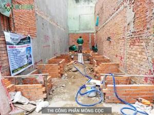 Khởi công xây dựng nhà chị Hiền quận Bình Tân