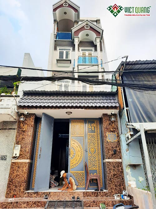 Sửa nhà trọn gói nhà biệt thự phố 4 tầng