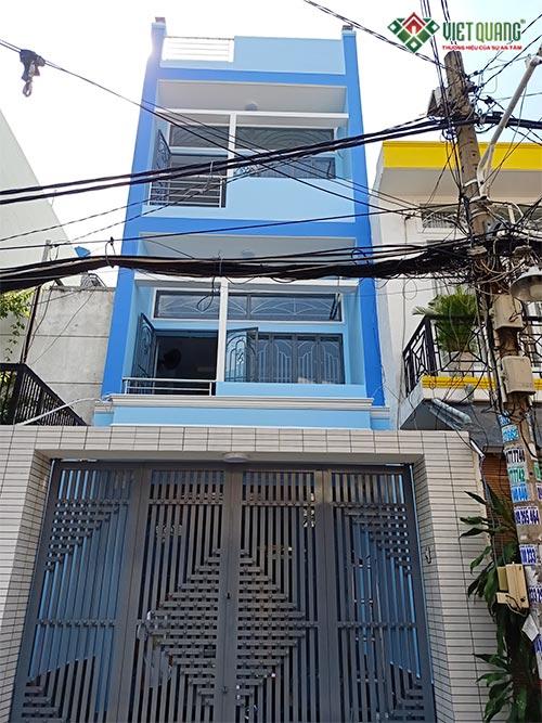 Sửa nhà nâng tầng nhà anh Phú tại quận Tân Phú