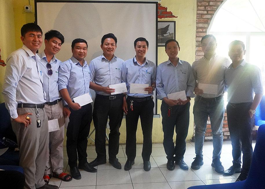 Họp tổng kết cuối năm 2020 – Việt Quang Group