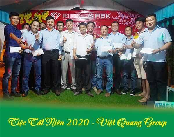 Tiệc tất niên 2020 – Việt Quang Group