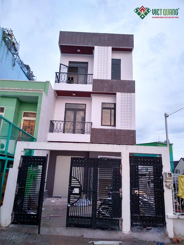 Xây nhà trọn gói huyện Nhà Bè – Gia đình anh Phương