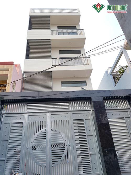 Xây dựng nhà ở kết hợp cho thuê tại quận Gò Vấp – Gia đình A. Phương + C. Thu