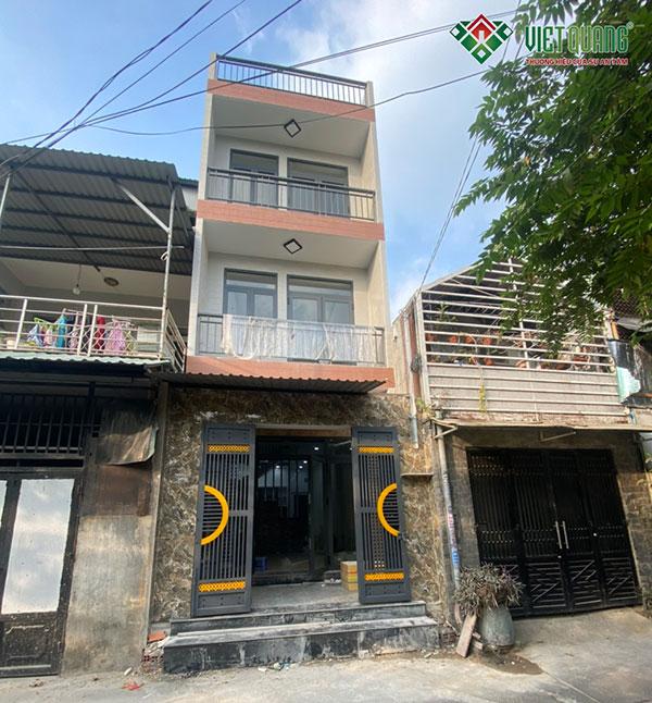 Xây nhà phố 3 tầng quận Bình Tân – Gia đình Chị Hiền