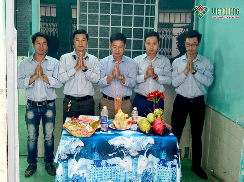 Cúng khởi công nhà chị Ngọc Anh - Gò Vấp