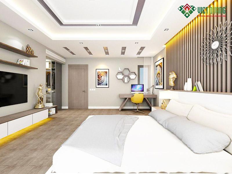 Nội thất phòng ngủ master đep, hiện đại