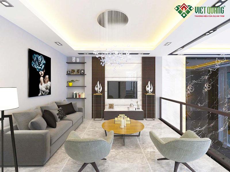 Mẫu thiết kế phòng khách hiện đại đẹp 21