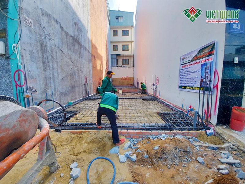 Thi công thép sàn và thép móng tại Bình Tân