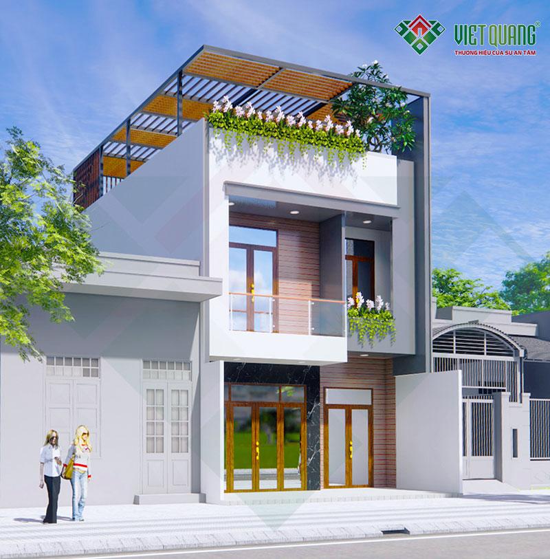 Thiết kế nhà phố 3 tầng đẹp hiện đại – 32