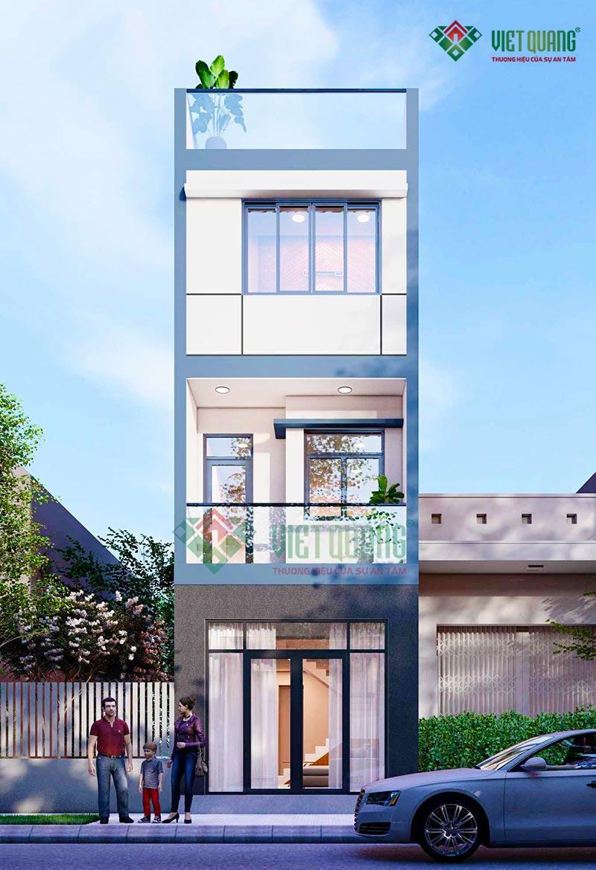 Thiết kế nhà phố 3 tầng đẹp, hiên đại – 30