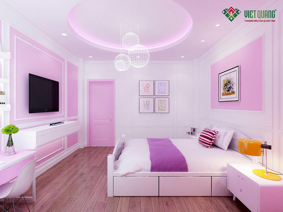 Nội thất phòng ngủ bé view 2