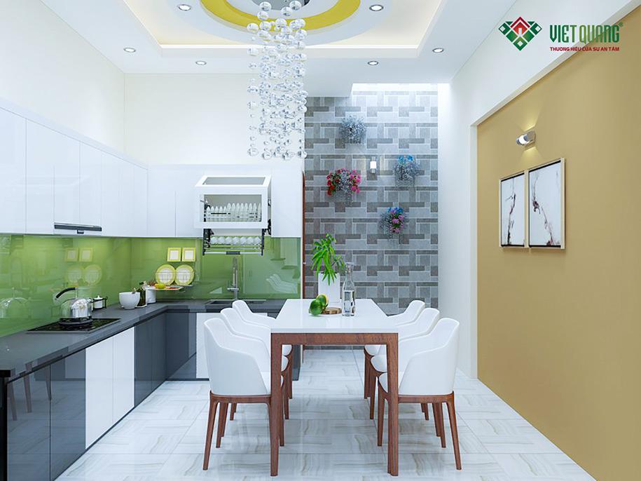 Nội thất bếp và bàn ăn view 2