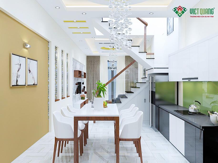 Nội thất bếp và bàn ăn
