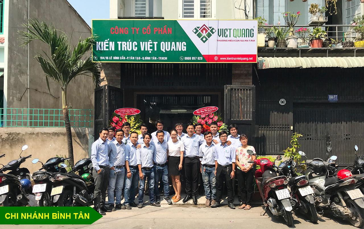 Chi nhánh quận Bình Tân của Việt Quang Group